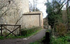 Old water mill, Valle del Treja