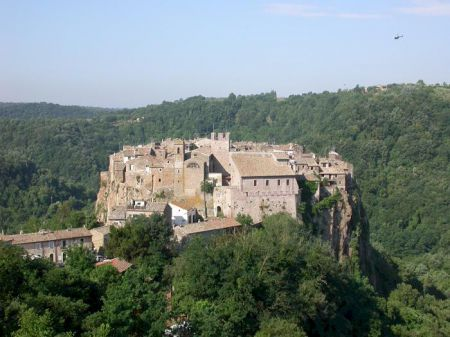 Calcata panorama